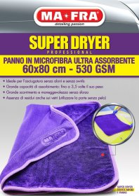 Cloth <strong>Super Dryer Professional 60X80 Ma-Fra</strong>